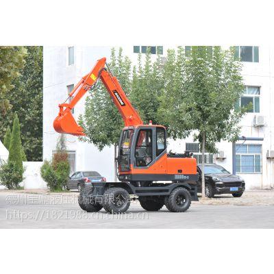BD80W-8全新轮式挖掘设备销售