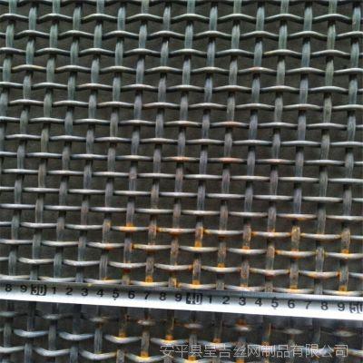 定做耐磨钢丝网筛石头筛网机器防护网防护网钢丝编织网销往河北山东江西