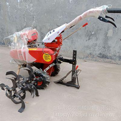 旋耕机 加厚履带水冷柴油除草机 旋耕回填机