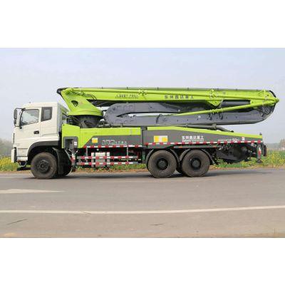 陕汽47米混凝土泵车/适合城镇乡村建设的47米天地搅拌一体的混凝土泵车厂家价格
