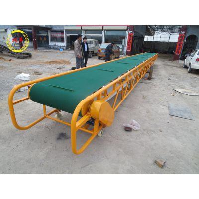 电动升降粮库输送机 双向运行粮食传送带 润华防滑橡胶带输送带