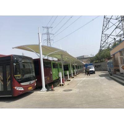 密山结构充电桩车棚,公交车棚小区车棚,可定制价格优惠