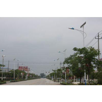 湖南新宁太阳能路灯厂家哪家好 新宁路灯批发价格多少 浩峰照明