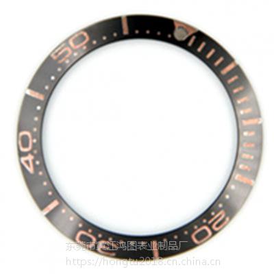 供应手表配件鸿图陶瓷表圈定制