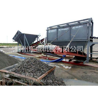 淮南滚筒洗石机用于不同原料石清洗作业