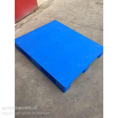 1210川字平板组合塑料垫板,内置钢管8根塑料垫板批发