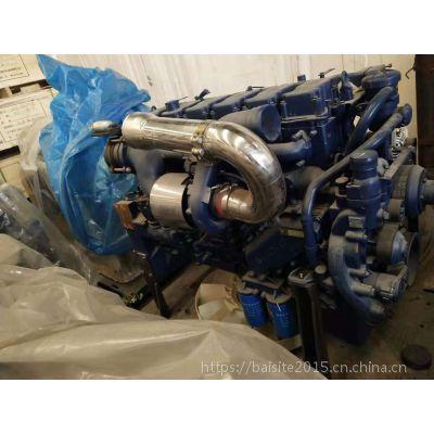 潍柴动力WP13.480E401电控高压共轨发动机 353kW卡车国四柴油机