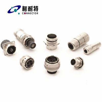 高压大电流插头插座 新能源纯电动汽车连接器 混合动力汽车连接器