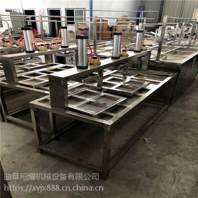 仿手工豆腐机操作简便 花生豆腐机节省人工