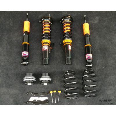 成都高尔夫7避震短簧专业改装 车身降低操控提升 成都卡特尼汽车改装