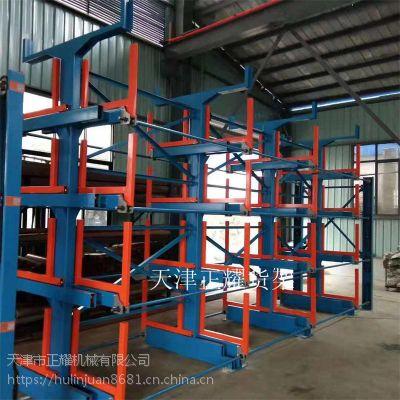 钢材切割机货架配合切割机下料型材伸缩悬臂式方便使用