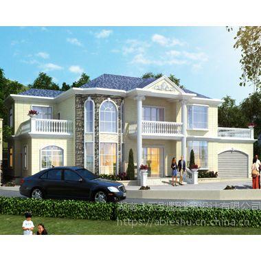 AT1828二层复式别墅设计带双车库图纸