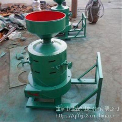 佳鑫双风道稻谷去壳碾米机 小型立式砂辊碾米机 荞麦大豆高粱去皮脱壳机使用效果