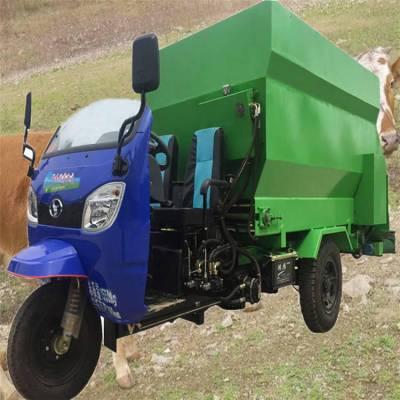 佩奇牛场撒料车 喂养草料撒草车 养殖用喂料机