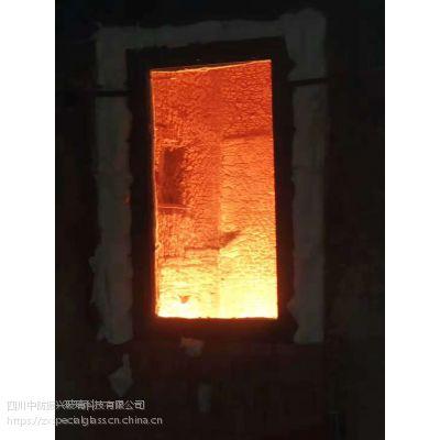 10mm烧检防火玻璃送检玻璃样品