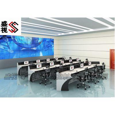 会议室指挥中心会议操作台 高端会议桌定制厂家 升降控制台 升降会议桌 指挥桌