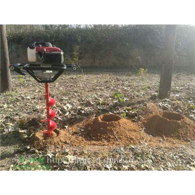 高品质单人可操作种树挖坑机省力又省时