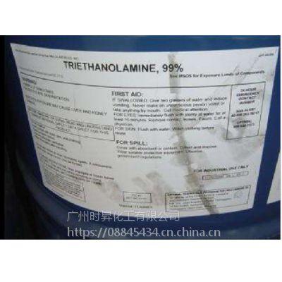 三乙醇胺 99% 85%陶氏/巴斯夫/英力士 原装华南供应 一乙二乙 醇胺化工原料用途