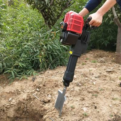 高品质大马力轻便链条起树机 树木挖树机型号厂家直销