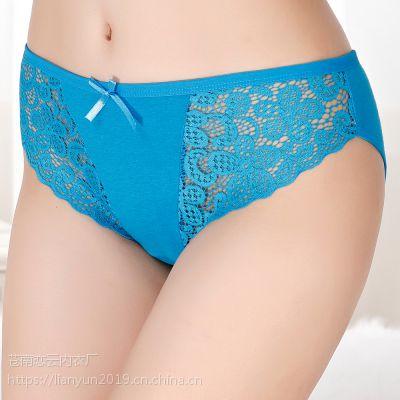 厂家直销外贸原单货源女士内裤 现货性感三角裤 出口南美女裤衩