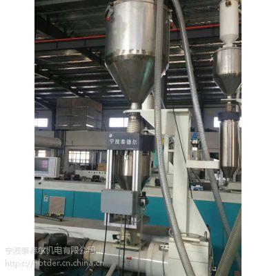 宁波泰德尔新型高精度塑料管道挤出米重控制系统