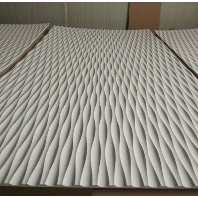 波浪板专业定制新型墙体装饰造型板立体波浪板