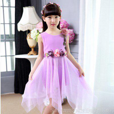 小孩裙子夏天4一6岁公主7儿童8女童夏装5连衣裙可爱9女孩穿的衣服