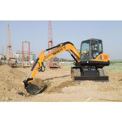 轮式挖掘机—恒特重工HT75W