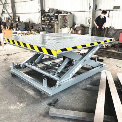 SJG剪叉式升降平台 液压式升降机 工厂简易货梯好用吗
