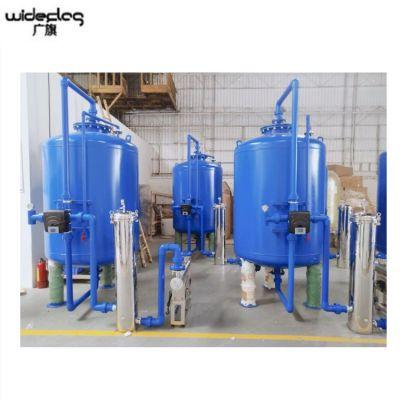 清又清厂家可定制大中小型碳钢机械罐 河水水库水澄清水质去杂质效果好