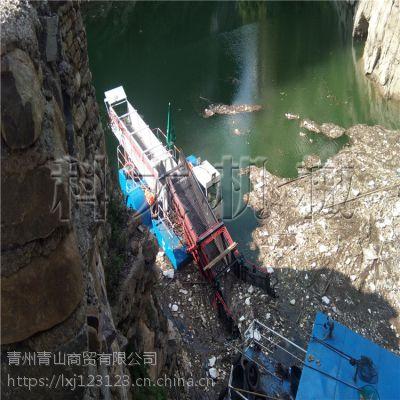 清理水库垃圾的机械、全自动河道清漂船