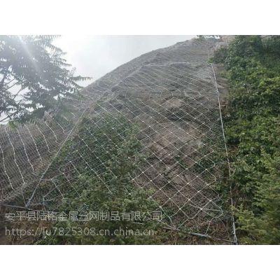 陆铭山体护坡网施工 环形边坡防护网 公路边坡防护网 厂家直销