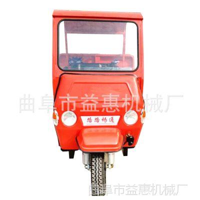 22马力柴油自卸三轮车 电启动柴油工程车 工地砖窑柴油三轮车