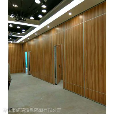 供应室内移动木质折叠隔断墙 深圳移动隔断工厂直销