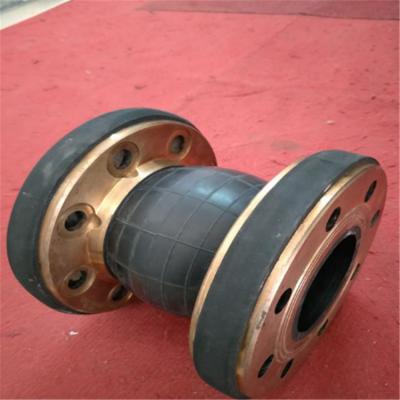 KWT可曲绕异径橡胶软接头|法兰式柔性翻边橡胶软连接|高品质