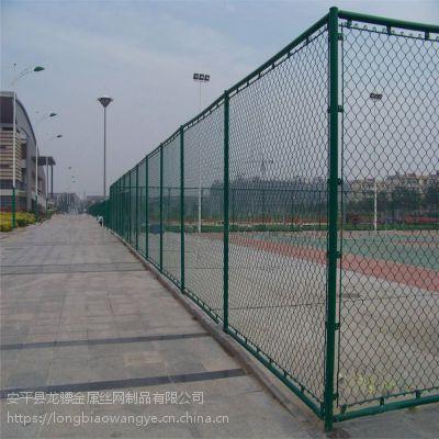 勾花铁丝围栏网 球场隔离围网 新农村建设防护网
