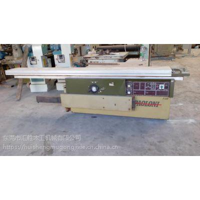 木工锯机 意大利SCM 3.2米精密推台锯