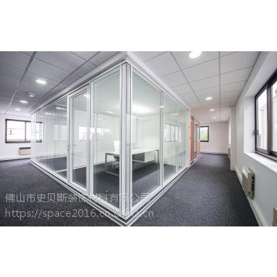 珠海智能办公玻璃隔断,铝合金隔断