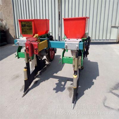 普航双行土豆覆膜机价格 多功能花生覆膜机 小颗粒种子播种机厂家