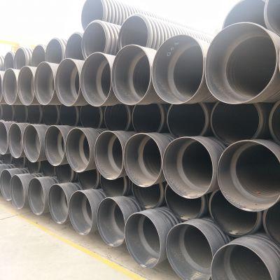dn400双壁波纹管 PE污水管 波纹管厂家