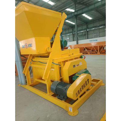 河南省众邦JS500/750混凝土搅拌机轻质隔墙板配套辅机湿料搅拌机机械设备