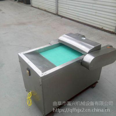 不锈钢型土豆切丝机-富兴餐厅饭馆切菜机厂家-鲜芦笋切片机