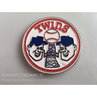 活动烤漆银币定制,小丑纪念币制作,深圳定制纪念币币厂