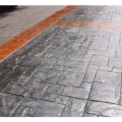 供青海地坪和西宁压花地坪工程
