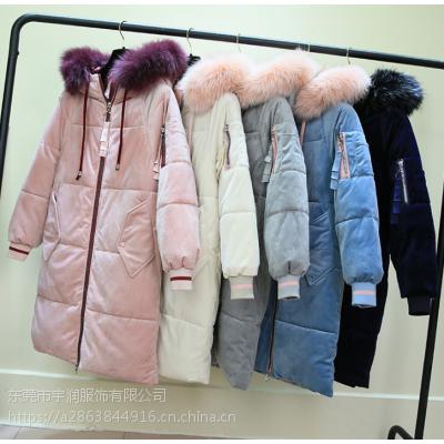 广州拿货批发市场十三行便宜女装棉衣羽绒服清货低价外套清货