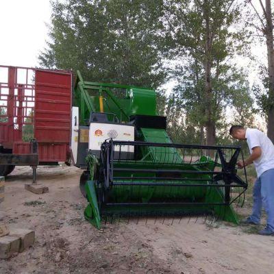 厂家促销125马力玉米秸秆青储机 牧草收割机 履带式青储机价格优惠