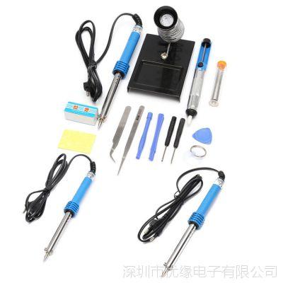 14合1 60W电烙铁焊锡线吸锡器维修工具 欧规220v ,美规110v可选