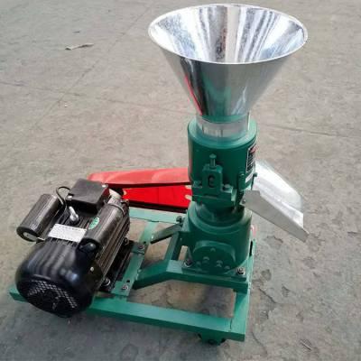 饲料养殖挤压颗粒机 自动造粒机 小型饲料加工润丰