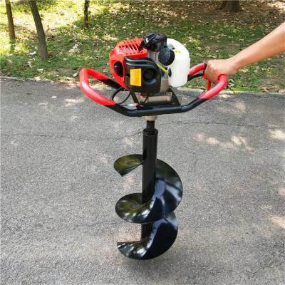 30厘米直径园林打坑机 乐农牌轻便型汽油挖坑机