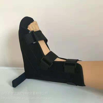 丁字鞋 骨科鞋丁字木板鞋脚骨折康复防旋鞋脚踝固定矫正钉子鞋石膏鞋肢具 黑色
